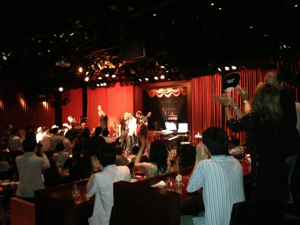 Chuck Loeb at Cotton Club_f0209434_17534751.jpg