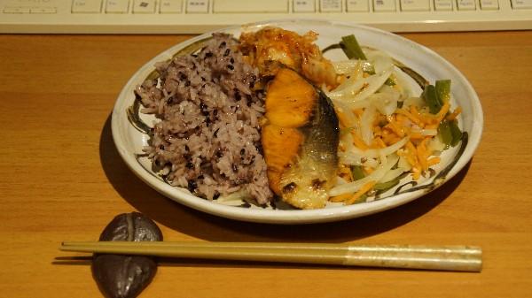 夕飯は焼き魚_e0166355_20251314.jpg