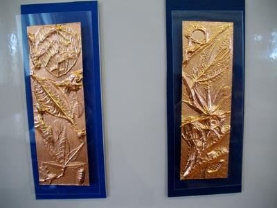 子どもたちと銅板レリーフ_e0239968_1811727.jpg