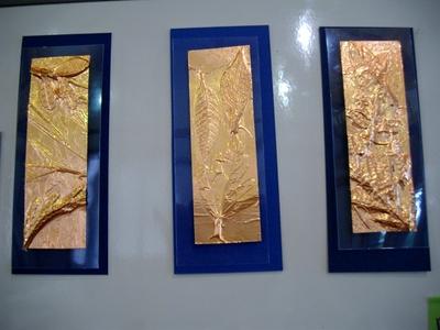 子どもたちと銅板レリーフ_e0239968_1895647.jpg