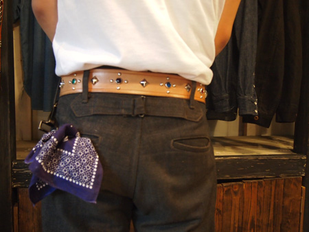 The people who wore RAWHIDE Studded & Jeweled Belt_c0187684_15534742.jpg