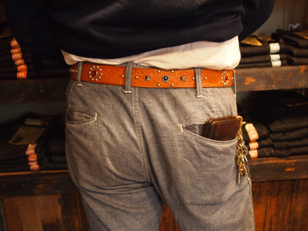 The people who wore RAWHIDE Studded & Jeweled Belt_c0187684_15551030.jpg