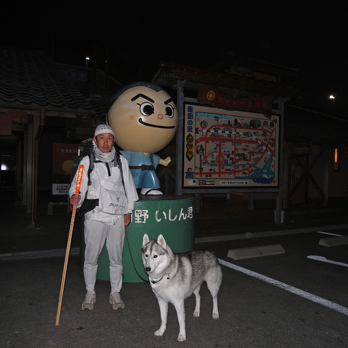 Memory of the second pilgrimage with husky HANA_c0049299_719596.jpg