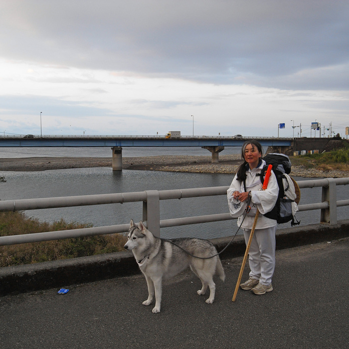 Memory of the second pilgrimage with husky HANA_c0049299_7201241.jpg