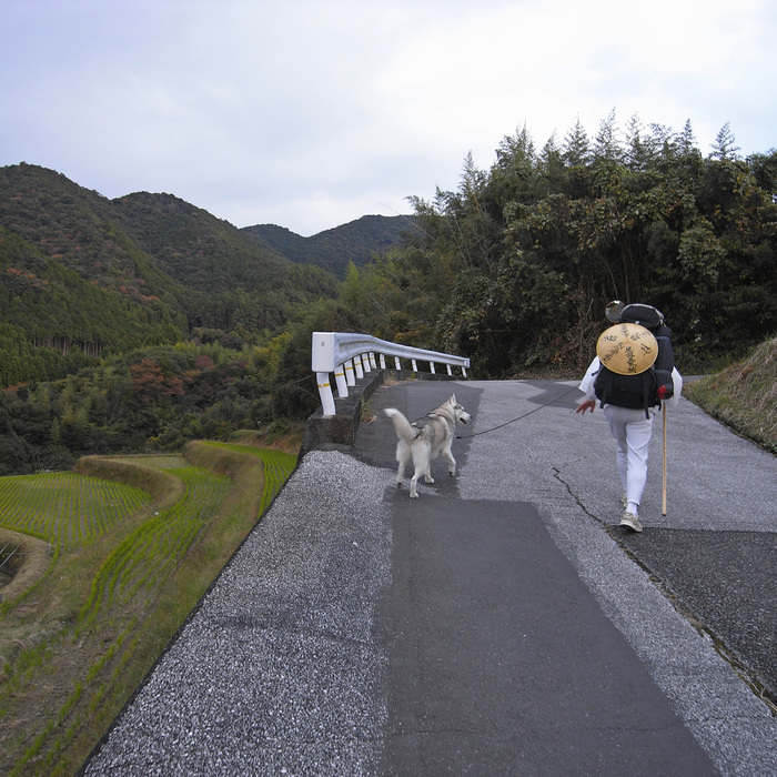 Memory of the second pilgrimage with husky HANA_c0049299_7221764.jpg