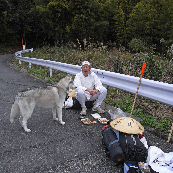 Memory of the second pilgrimage with husky HANA_c0049299_7234588.jpg