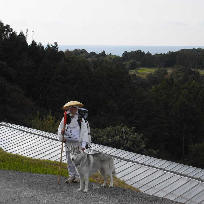 Memory of the second pilgrimage with husky HANA_c0049299_7301876.jpg