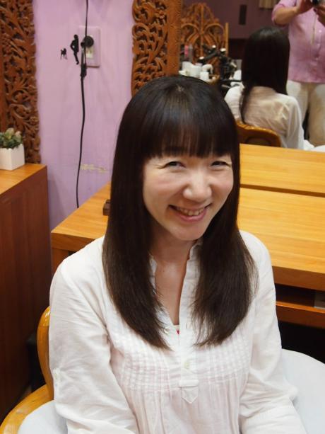 Hanaのトリートメントでかける縮毛矯正♪_a0037910_1423230.jpg