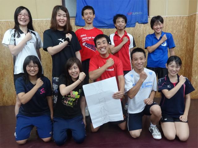 ジュニア教室OGと中岡氏_e0052012_914767.jpg