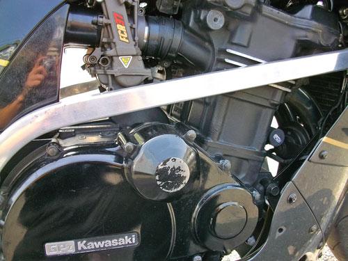 N尾っち号 GPZ900Rニンジャのエンジン載せ換えっちょ♪(Part1)_f0174721_23474443.jpg