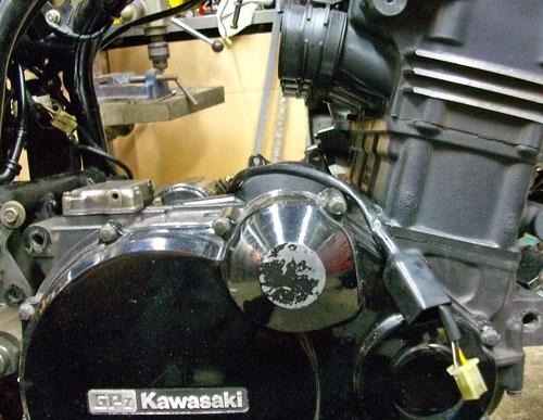 N尾っち号 GPZ900Rニンジャのエンジン載せ換えっちょ♪(Part1)_f0174721_2350328.jpg
