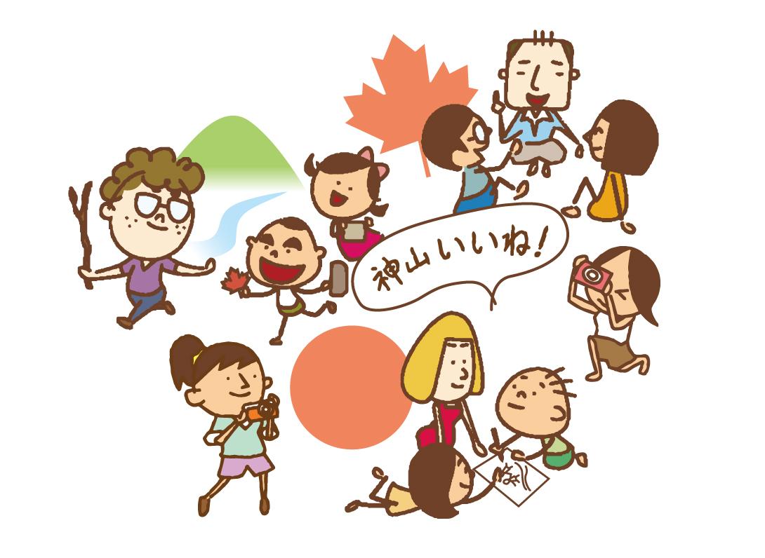 「神山いいね!」カナダと神山町をつなぐ造形ワークショップ_d0058440_15524411.jpg