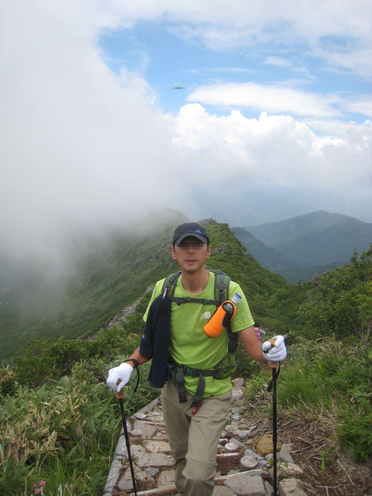毎年恒例の白山登山へ_e0121558_0301341.jpg