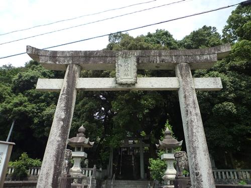 若八幡神社(5)女神たち 神夏磯媛と速津媛_c0222861_2214328.jpg