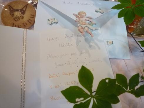 天使からの invitation。。。.。..。.゚。*・。♬♪*†_a0053662_3171771.jpg