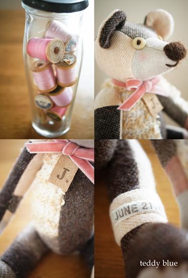 teddy pinky baby girl  テディ ピンキー ベイビーガール_e0253364_20535353.jpg
