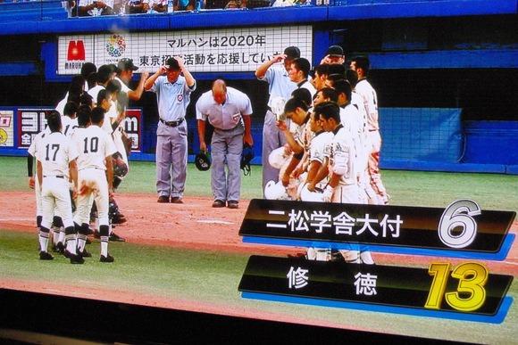 ((φ(-ω-)ちくちく① 高校野球観戦_b0187479_17181694.jpg