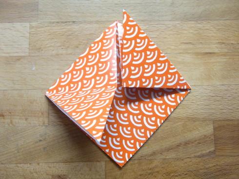 Buone Vacanze a tutti♡ 暑中お見舞い金魚 Origami Ⅶ_b0246303_7224350.jpg