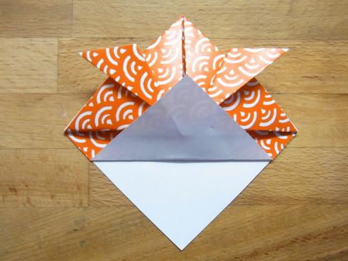 Buone Vacanze a tutti♡ 暑中お見舞い金魚 Origami Ⅶ_b0246303_725148.jpg
