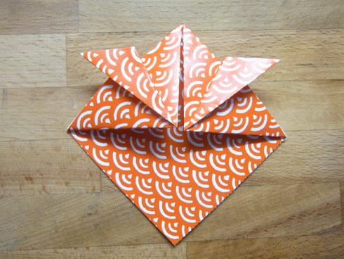 Buone Vacanze a tutti♡ 暑中お見舞い金魚 Origami Ⅶ_b0246303_72678.jpg