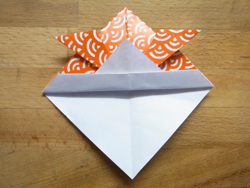 Buone Vacanze a tutti♡ 暑中お見舞い金魚 Origami Ⅶ_b0246303_7285619.jpg