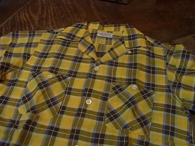 8/3(土)入荷!秋に向けて!50'S KANEE オープンカラーボックスシャツ!_c0144020_13535657.jpg