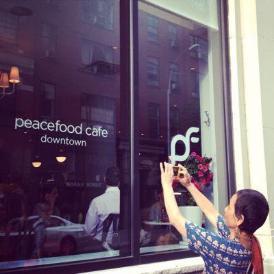Peacefood cafe 訪問♡_f0095325_1201331.jpg