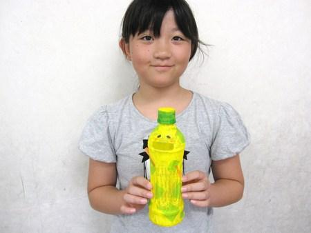 長尾教室 ~ペットボトルの貯金箱~_f0215199_21332117.jpg