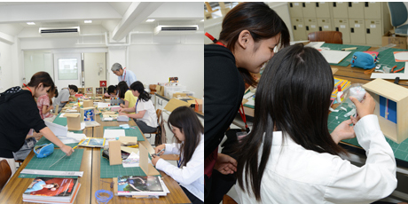 2013年8月3日、4日にNSCカレッジでは体験入学を開催 1_b0110019_16194342.jpg