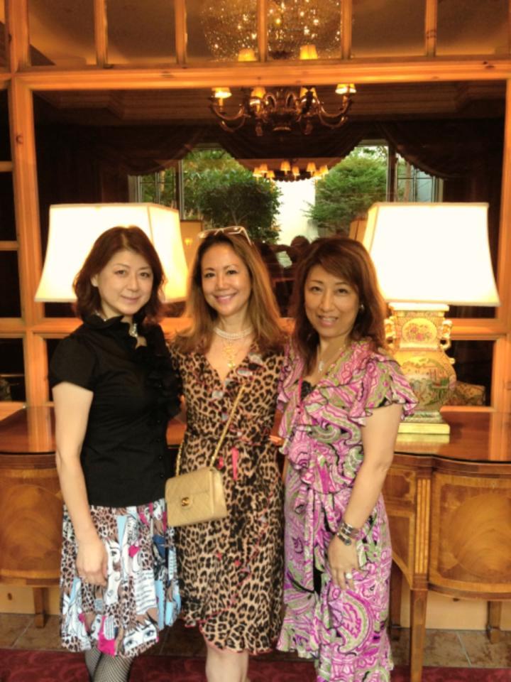 麗しいマダムたちとゴージャスシャンパンナイト@リッツ・カールトン大阪_f0215324_1149195.jpg