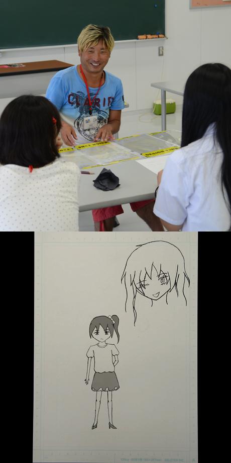 2013年8月3日、4日にNSCカレッジでは体験入学を開催 3_b0110019_16341167.jpg