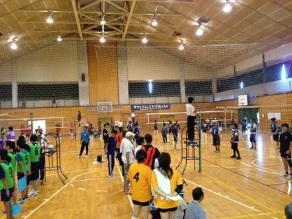 日和田町内対抗バレーボール大会_f0259324_2247367.jpg