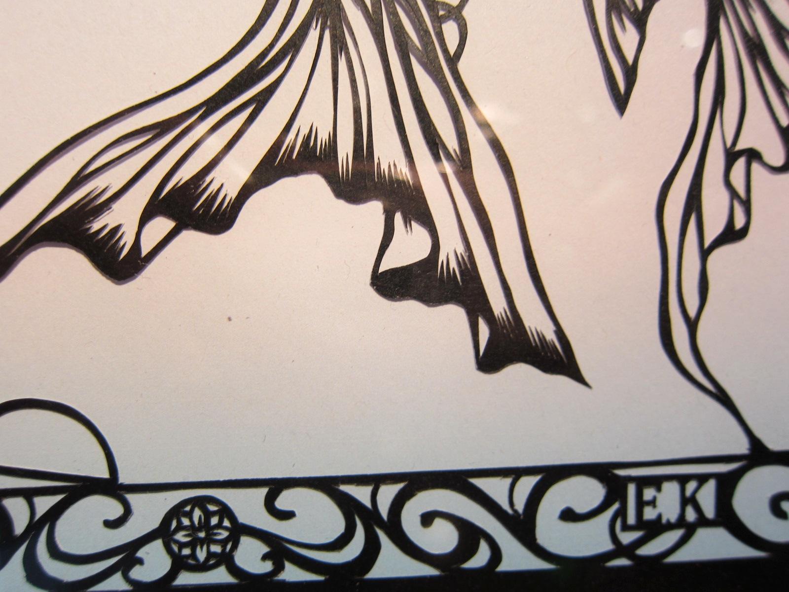 2127)「黒川絵里奈切り絵展 『遠い記憶の物語』」 カフェエスキス 7月18日(木)~8月11日(日)  _f0126829_11471732.jpg