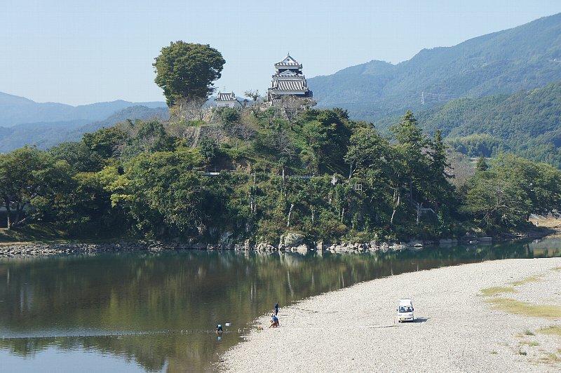 愛媛県の大洲市 : レトロな建物...