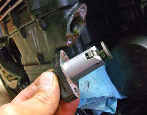 N尾っち号 GPZ900Rニンジャのエンジン載せ換えっちょが完成ーーー♪(Part3)_f0174721_23445954.jpg