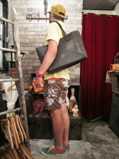 """SLOW \""""handpaint width tote bag\"""" ご紹介_f0191324_746837.jpg"""