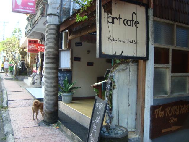 バリ島へ行く。⑦ ~ウブドのおしゃれカフェ~_f0232060_214987.jpg