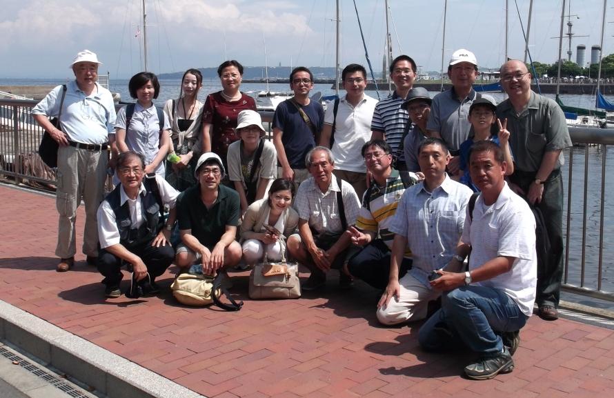 横浜、池袋漢語角メンバーが横須賀開港記念日で交流·軍艦の乗船体験に女性メンバーも興奮!_d0027795_1863292.jpg