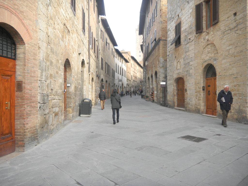 イタリア紀行  その3   フィレンツエ から サン・ ジミニャーノ_c0195496_1874664.jpg