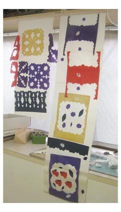 切り紙・色のカーテン・小学生クラス_f0211514_17144414.jpg