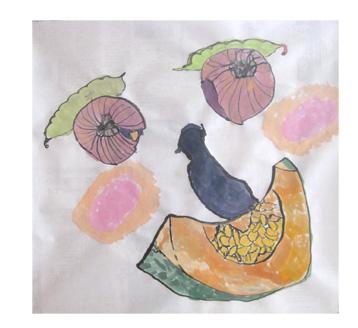 夏の野菜まつり・小学生クラス_f0211514_17345111.jpg