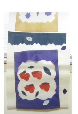切り紙・色のカーテン・小学生クラス_f0211514_1795183.jpg
