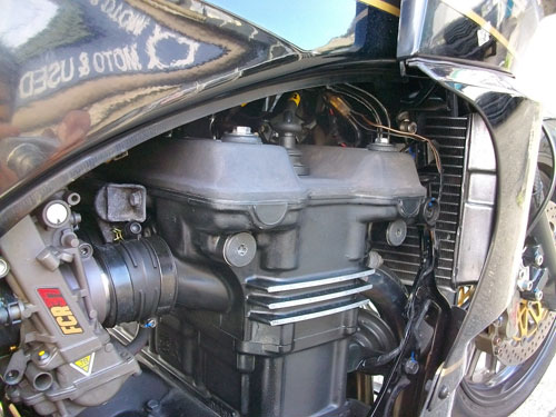 N尾っち号 GPZ900Rニンジャのエンジン載せ換えっちょが完成ーーー♪(Part3)_f0174721_075237.jpg