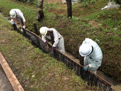 ゲリラ豪雨による水害復旧工事_f0259324_17401482.jpg