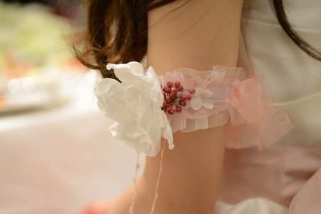花冠の花嫁様 とある会場様へ 大人テイストのムーミンのような世界観_a0042928_1656363.jpg