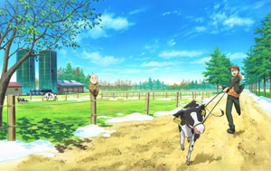 TVアニメ 「銀の匙 Silver Spoon」Blu-ray&DVD第1巻 詳細情報公開!発売日は9/18に決定!!_e0025035_1543377.jpg