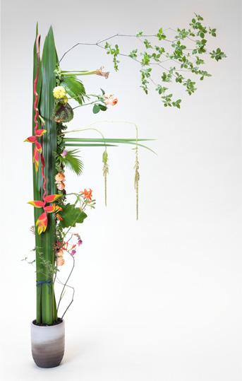 日本花職杯・グランドチャンピオンシップ 優勝作品集_b0221139_8293937.jpg