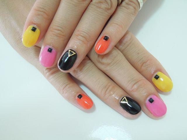 Colorful Nail_a0239065_10454489.jpg