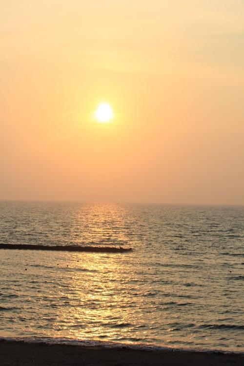 お久しぶり~の夕日さん♪_a0200771_22205717.jpg
