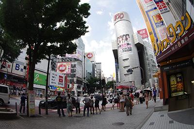 8月6日(火)の渋谷109前交差点_b0056983_1052920.jpg